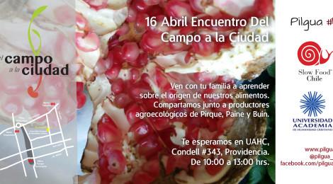 16 ABRIL : Encuentro del Campo a la Ciudad